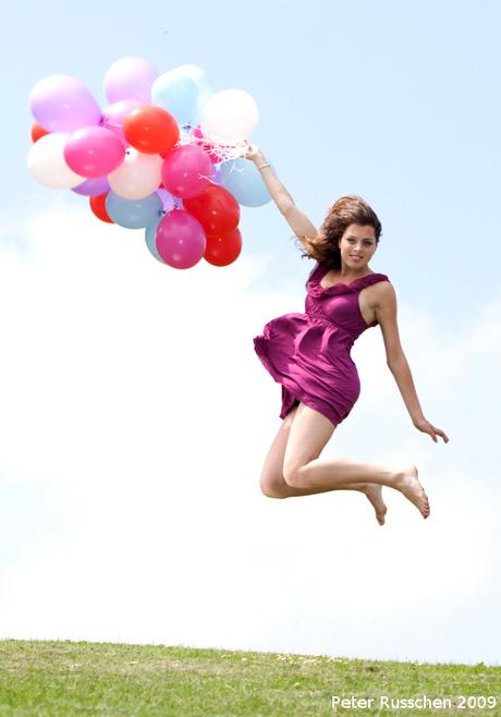 Stephanie vliegt