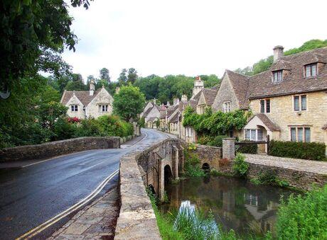 Castle Combe Wiltshire UK