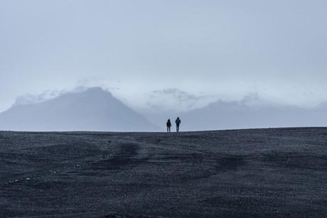 Strand Vik, IJsland