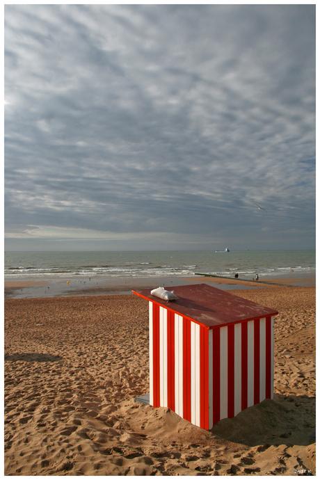 Strandhuisje Oostende