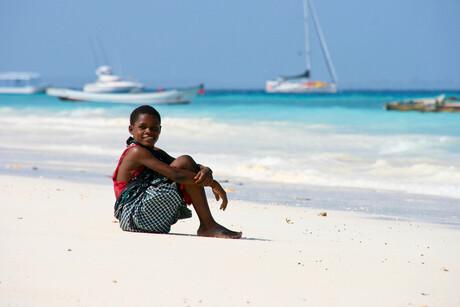 Zanzibar, niet geposeerd!