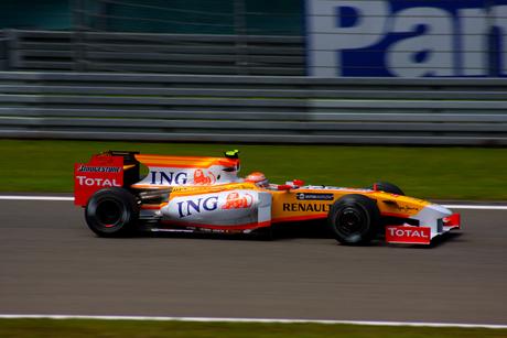 Renault op de Nurburgring