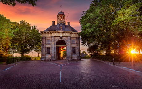 The city gate of Enkhuizen