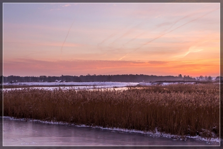 De laatste winterse ochtend