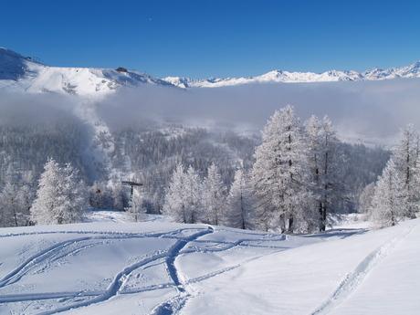 Winter in Sestrière