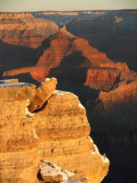 zonsopkomst n Grand Canyon