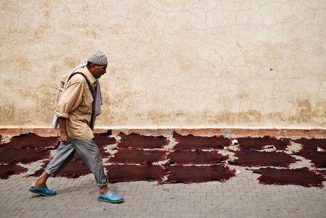 Passing by in Marrakech