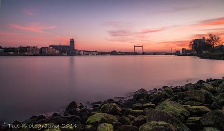 Relaxing at sunset (Dordrecht/Zwijndrecht)