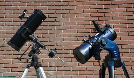 De Byomic en de Meade telescoop.