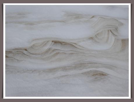 waar zand en sneeuw samen komen