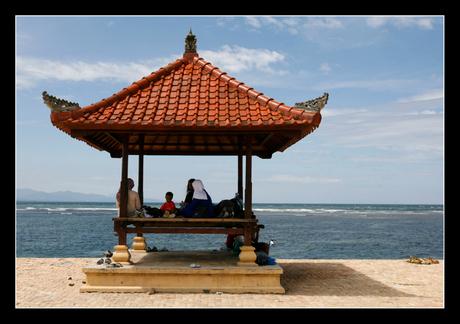 A day at the Sanur-beach