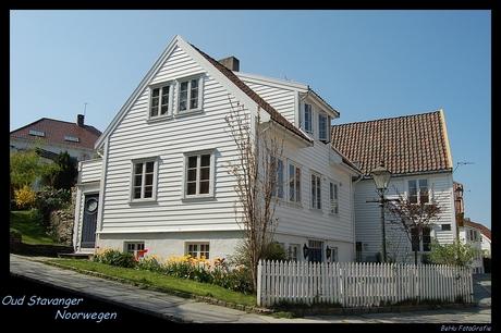Oud Stavanger (Noorwegen)