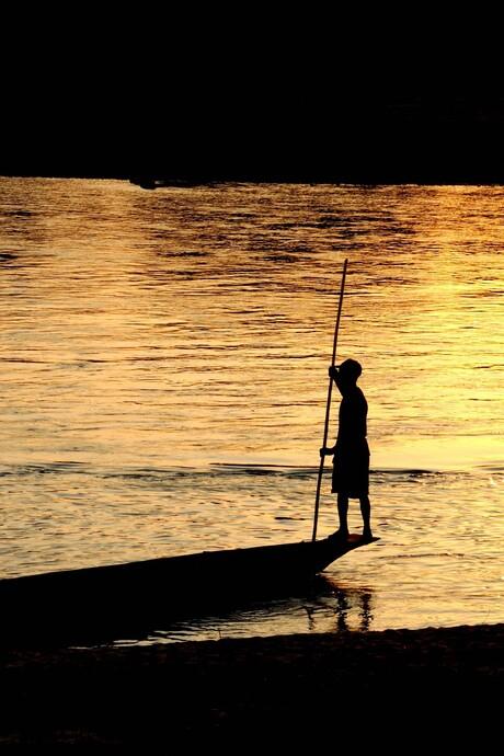 Bewerkt: Sunset Silhouet
