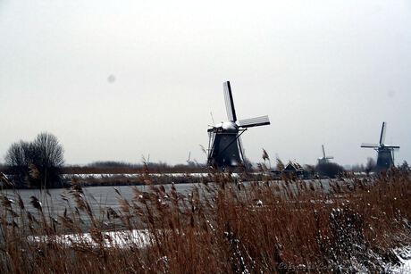 Winterse Molens Kinderdijk