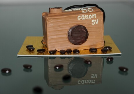 Chocolade fototoestel
