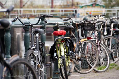 Kleurige fiets