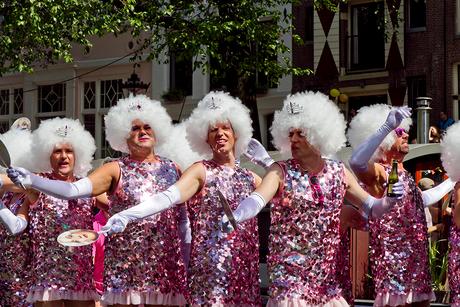 Amsterdam Gay parade 2013