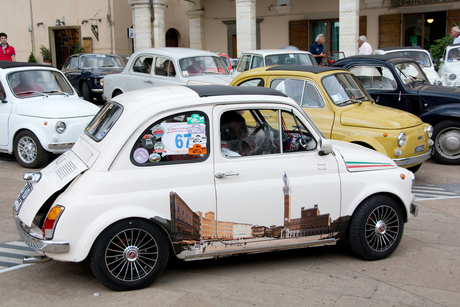 Fiat-rally Italië 2015