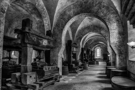 Wijn persen Klooster Eberbach