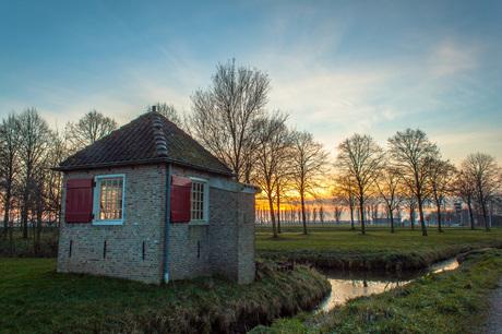 Wachterhuisje Nieuwpoort