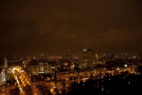 skyline vanaf de euromast (miniatuur??)