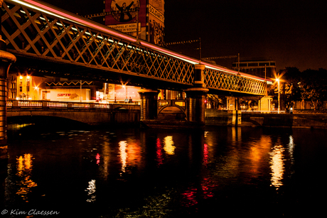 Spoorbrug in Dublin