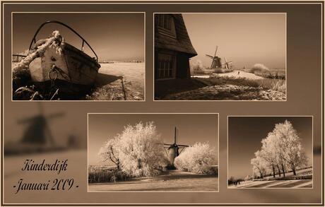 Collage van het winterlandschap-2