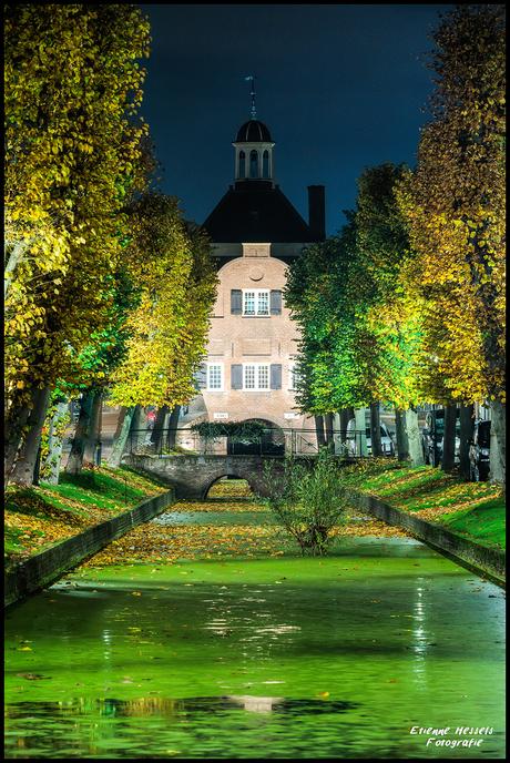 Nieuwpoort. At night