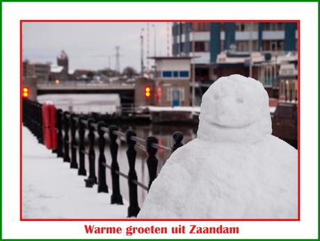 Warme groeten uit Zaandam