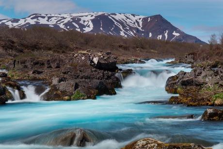 Bruarfoss waterval IJsland
