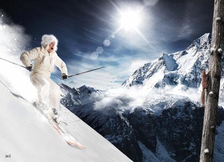 Skiën weee