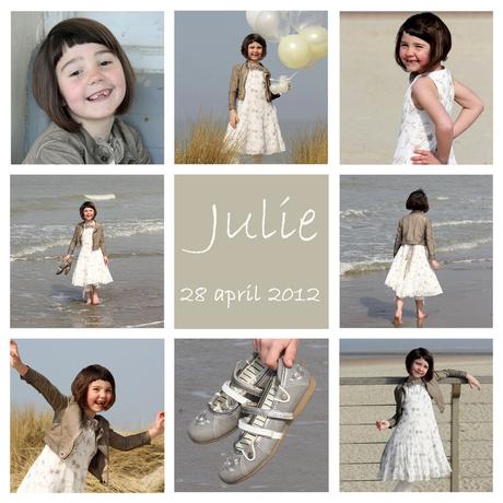 1ste communie Julie