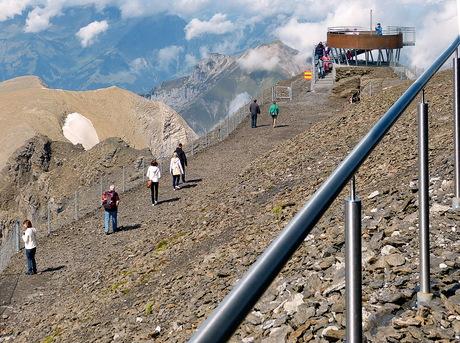 Schilthorn 2770 meter.
