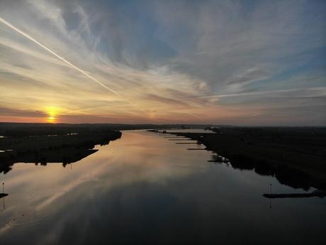 Zonsopkomst Neder-Rijn