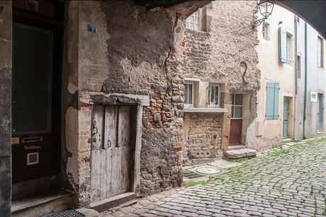 straatje in Cluny