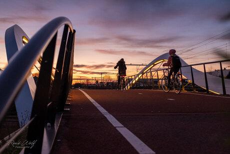 Flowrider fietsbrug