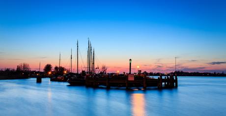 Historische vissershaven Woudrichem