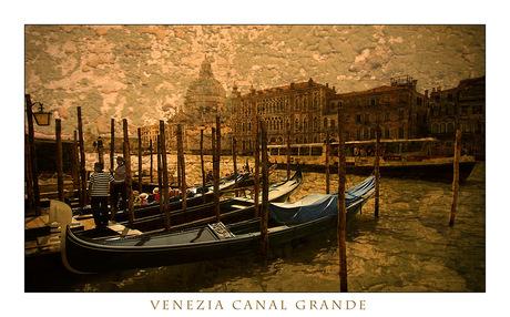 Venezia Canal Grande 1950