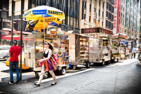 """NYC Bagel Stands"""