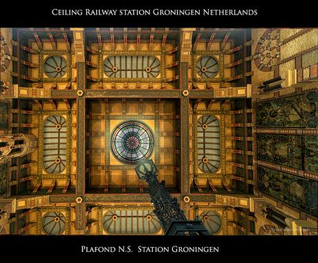 Plafond - Ceiling NS Station Groningen