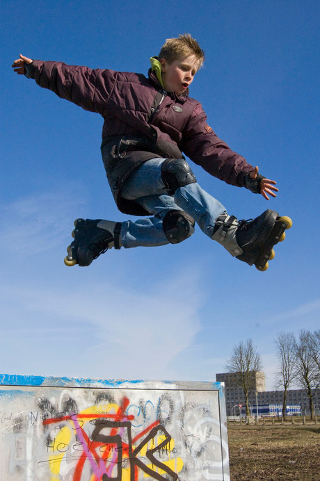 Flying too