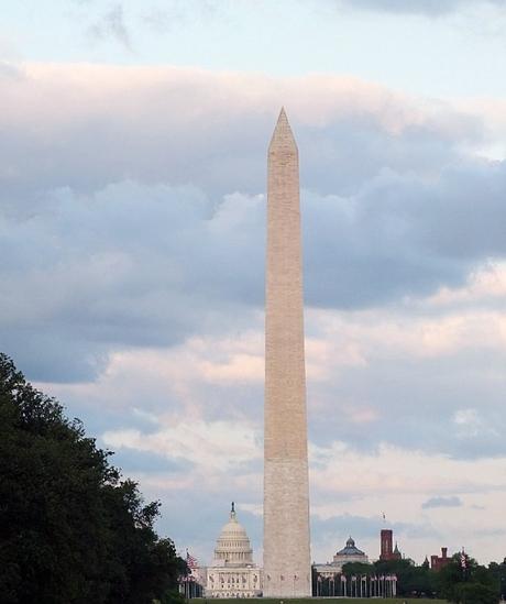 Sunset at the Washington Monument