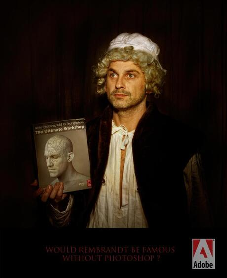 Would Rembrandt be famous without Photoshop?