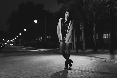Fashion in de nacht