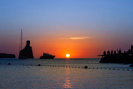 Strand Benirras, Ibiza