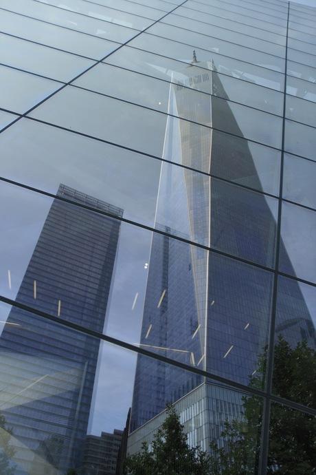 Gespiegelde Freedom Tower