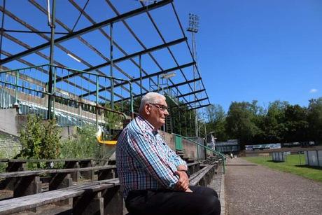 Mijn vader in Stadion De Wageningse Berg