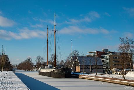 'De Houtstek' en de Pannenkoekenboot in Almelo