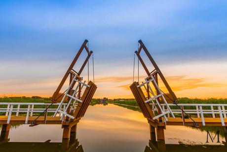 Ophaalbrug Kinderdijk