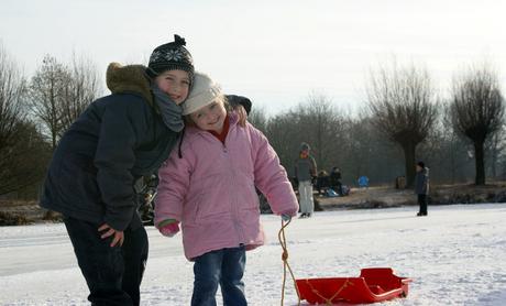 Mijn (B)engeltjes op het ijs!!